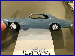 Dealer Promo Model 1969 BUICK WILDCAT BLUE HARDTOP HIGH GRADE
