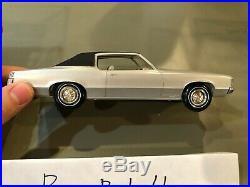Dealer Promo Model 1969 PONTIAC GRAND PRIX HARDTOP BLUE HIGH GRADE