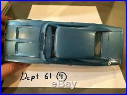 Dealer Promo Model 1970 DODGE CHARGER RT BLUE HARDTOP HIGH GRADE
