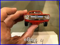 Dealer Promo Model 1971 DODGE DEMON 340 ORANGE MEMORY LANE WHEATS HIGH GRADE