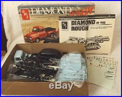 Diamond In The Rough Ford Truck-car Trailer & Ford Car Amt 125-model Kit