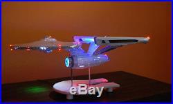 ENTERPRISE 1701 1350 EFFECT LED LIGHTING KIT STAR TREK AMT POLAR LIGHTS
