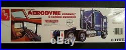 ERTL/AMT Kenworth Aerodyne Cabover #6652 1/25 scale vintage kit