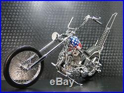 Easy Rider Harley Davidson Built Motorcycle Chopper Captain America Model