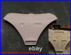 Enterprise D upgrade parts V1 SET, 1/1400 AMT, Round2 Star Trek model kit