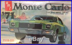 Extremely Rare AMT 1971 Chevrolet Monte Carlo Sealed Kit# T119-225