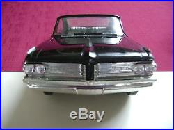 FREE SHIPPING! RARE AMT 1962 PONTIAC STARLIGHT BLACK Bonneville Hardtop Promo