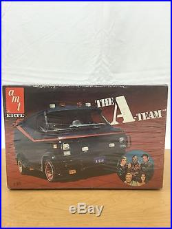 Factory Sealed Never Opened A Team GMC Van Vintage 80's AMT 125 Model Kit