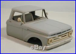 Ford F350/F100 1962 1/25 scale resin cab kit compatible AMT limited series