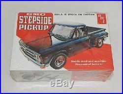 GMC STEPSIDE PICKUP Vintage AMT Model Kit #T409 1/25 Scale SEALED R11835