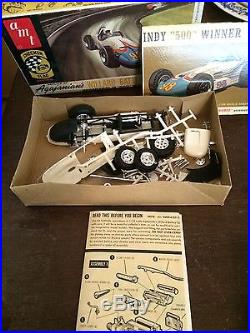 Great Lot Of Vintage Model Cars Indy Racing IMC Amt Mpc Omc Willard Lotus + More