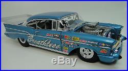 Hot Rod 1 1957 Chevy Bel Air Dragster Race Car 1963 Corvette Motor 24 18 1955 12