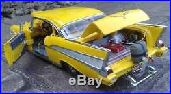 Hot Rod 1 1957 Chevy Dragster Drag Race Car 24 NHRA Chevrolet Built Model Sport