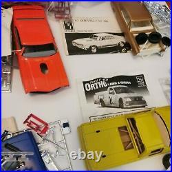 Huge Lot Of AMT Monogram Lindberg Jo Han New & Old Model Kits