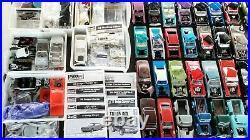 Huge Parts Yard 124/125 Scale Model + Used Car Lot Built/Partials
