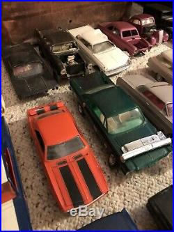 Huge Vintage Model Lot Prebuilt kits, AMT, MPC & Others from the 50s & 60s