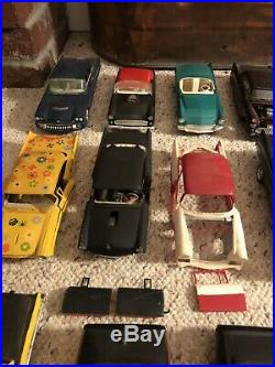 Huge Vintage Model car Lot, AMT MPC & Others, Prebuilt kits