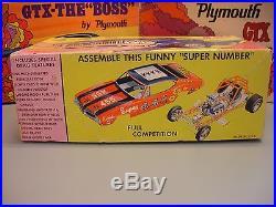 JOHAN 1970 OLDS CUTLASS 4-4-2 CARTOON BOX 3n1 C-1670200 70 1/25 AMT UNBUILT KIT