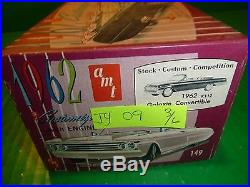JUNKYARD AMT 1962 FORD GALAXIE CONVERTIBLE 1/25 Car Mountain VINTAGE K112