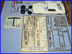 Johan 1971 Amc Javelin Amx Super Fc #c-205200 1/25 Amt Mpc Unbuilt Model Kit
