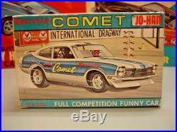 Johan 1971 Mercury Comet Funny Car Only C-106200 71 1/25 Amt Factory Sealed Kit