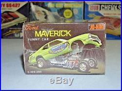 Johan Ford Mighty Maverick F/c C-109200 1/25 Amt Mpc Mint Factory Sealed Kit