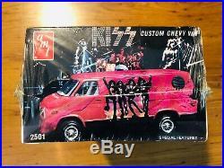 KISS 1977 AMT Chevy Van Model Kit New Still Sealed Unopened