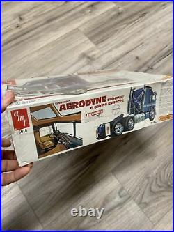 Kenworth Aerodyne Cabover Semi Model Truck Kit by AMT Factory Sealed