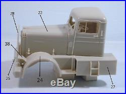 Kenworth Logger 1/25 scale resin cab kit compatible AMT limited series