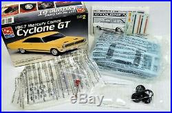 LOT 10 Three (3) different 1/25 scale AMT/ERTL MODEL CAR kits