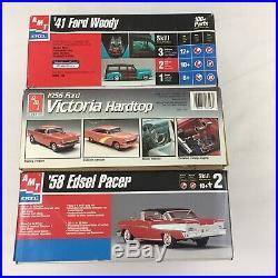 LOT 12 Model Car Building Kits AMT Classic Cars Trucks Junkyard Parts Bodies