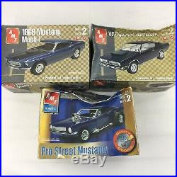 LOT 12 Model Car Building Kits AMT Muscle Cars Dragsters Junkyard Parts Bodies
