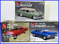 LOT 14 Three (3) different 1/25 scale AMT/ERTL MODEL CAR kits