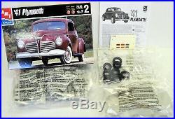 LOT 16 Three (3) 1/24 1/25 scale AMT MONOGRAM REVELL MODEL CAR kits