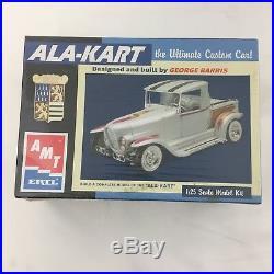 LOT 3 AMT 1/25 Scale Model Car Building Kits ALA-KART, Hippie Hemi, Plymouth