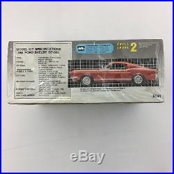 LOT 3 AMT Model Car Building Kits 56 Ford Victoria 68 Shelby 61 Ranchero