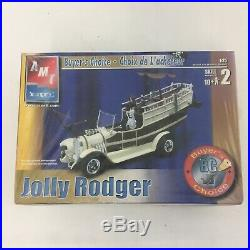 LOT 4 Model Car Building Kits AMT 1933 Willys Coupe Jolly Rodger Parts Bodies