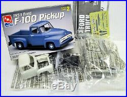 LOT 5 Three (3) different 1/25 scale AMT & REVELL PICKUP TRUCK model kits