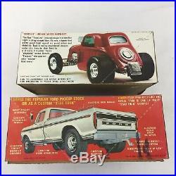 LOT 7 Model Car Building Kits AMT Junkyard Parts Bodies Varied Kits