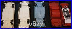 LOT OF 9 RARE 1960s Plastic Corvair Promo Models AMT & Friction PROMOTIONAL Cars
