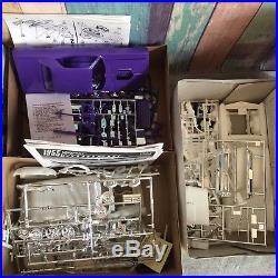 LOT of 12 Car, Truck Plastic Model Kits 1/25 scale -AMT/ERTL, Revell, Open Parts