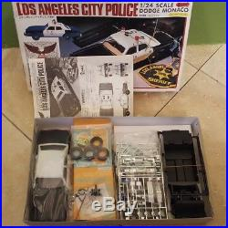 LOT of 13 Revell, AMT, Lindberg, Minicraft and Yodel Police Model Kits