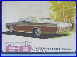 Lincoln amt LINCOLN Continental 1968 time thing! Translation equipped