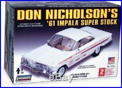 Lindberg Don Nicholson's built lmpala Stock johan amt model car Super 61' kits