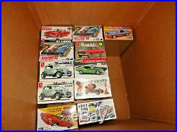Lot Of 24 Vintage Plastic Model Kits All Are Factory Sealed In Shrink Wrap