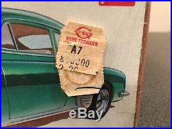 Lot Of 3 Original Vintage Model Kits 40 Ford 55 Corvette 51 Fleetline Sealed