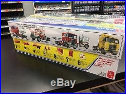 Lot Of 4 AMT 1/25 Scale Trailer Kits New in Sealed Boxes