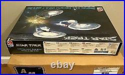 Lot Of 6 AMT/ERTL SnapFast U. S. S. ENTERPRISE 1701-B, C and E Set Model Kits Read