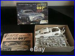 Lot of 14 Vintage Model Car Kits AMT, MFC, AIRFIX, Revell, James Bond, Corvette