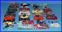 Lot of Vintage Built Model Kits AMT Jo-Han and More